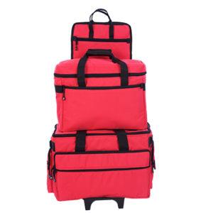 valigia necchi rossa