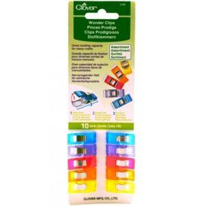 clover-3185 wonder clip assortite
